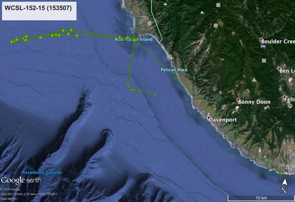 153507 GPS Track